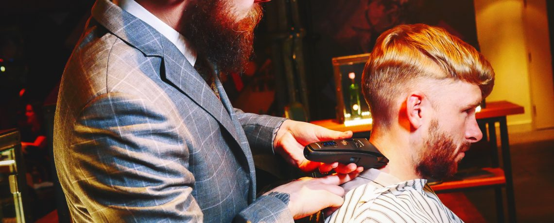 Panasonic's Peaky Barbers Pop-Up